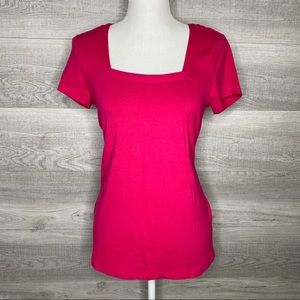Hot Pink Top Philosophy by Republic Size Small